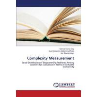 预订 Complexity Measurement [ISBN:9783659750045]