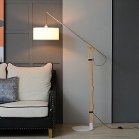 卧室北欧落地灯站立式创意钓鱼灯现代简约ins沙发台灯