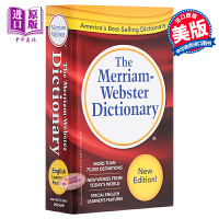 【中商原版】�f氏小�t字�~典 �t色 Merriam Webster Dictionary 英文原版