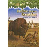神奇树屋 英文原版 Buffalo Before Breakfast (Magic Tree House #18)