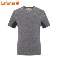 法国LAFUMA乐飞叶男士户外网眼弹力透气夏季运动短袖T恤LME06B418