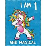 预订 Unicorn B Day: I am 1 & Magical Unicorn birthday one Yea