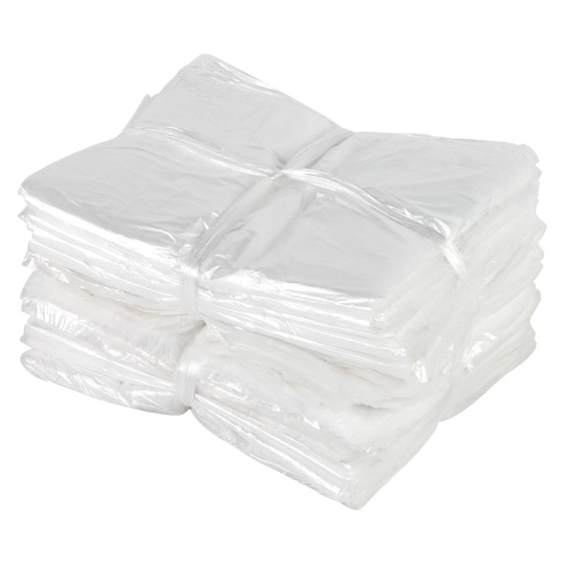 酒店垃圾袋加厚透明白色小号宾馆一次性用品客房专用平口塑料胶袋 支持礼品卡,全店满额立减