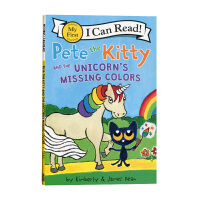 英文原版 皮特猫和独角兽丢失的颜色 Pete the Kitty and the Unicorn's Missing C