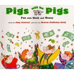 预订 Pigs Will Be Pigs: Fun with Math and Money [ISBN:9780689