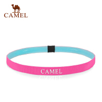 camel骆驼运动头带 瑜伽束发带吸汗防滑发箍跑步健身装备发带