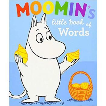 英文原版绘本Moomin's Little Book of Words 小单词书穆明系列姆明一族小肥肥一族故事书幼儿园纸板书亲子共读撕不烂适合学龄前