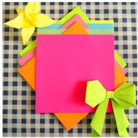 彩色手工纸儿童diy手工折纸材料卡纸压花纸碎花星空折花纸鹤