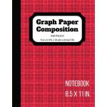 预订 Graph Paper Composition Notebook: Graph paper pages and
