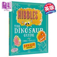 【中商原版】啃书小黄怪尼宝 恐龙指南 英文原版 Nibbles The Dinosaur Guide 趣味故事绘本 翻