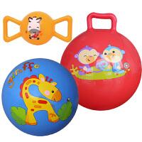 【当当自营】费雪(Fisher Price)儿童玩具球三合一(摇铃球黄色+9寸拍拍球蓝色+10寸摇摇球红色 送打气筒)