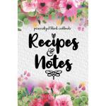 预订 Recipes and Notes: 120 Blank Recipe Journal, Personalize