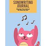 预订 Songwriting Journal Blank Sheet Music Notebook With Manu