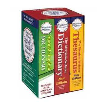 韦氏 Merriam-Webster's English & Spanish Reference Set 2147483647