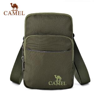 camel骆驼户外挎包 1L男女通用手拎斜挎单肩包野营旅游