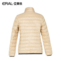 ERAL/艾莱依冬轻薄羽绒服女短款修身长袖立领羽绒服5079D