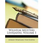 【预订】Wilhelm Meisters Lehrjahre, Volume 1