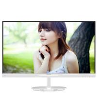 飞利浦274E5QSW 27英寸 薄窄框 AH-IPS屏 16:9 LED白色液晶显示器