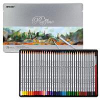 马可(Marco)7120-36TN 水溶性36色彩色铅笔/填色笔/彩铅 铁盒装