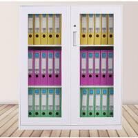 鑫宣美XM-G077钢制文件柜玻璃矮柜(常规)