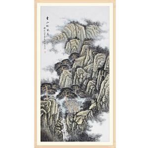 山东省美术家协会会员 姜国强《云山松风远》JYP035