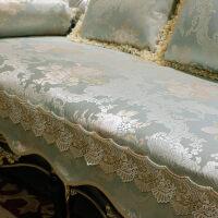欧式沙发垫四季通用防滑布艺坐垫123组合皮沙发套罩全盖