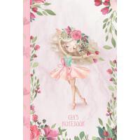 【预订】Gia's Notebook: Dance & Ballet Jorunal for Girls, 108 l