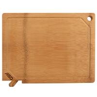 爱仕达砧板 加厚菜板整竹长方形可立切菜案板擀面板水果板GJ30B1WG