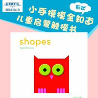 Touchthinklearn: Shapes 英文原版 触摸思考学习系列纸板书:形状