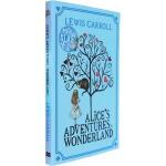 英文原版 Alice's Adventures in Wonderland 爱丽丝梦游仙境 经典儿童奇幻文学 爱丽丝漫