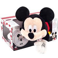 Zoobies迪士尼玩具 米奇毛绒玩具三合一DY109【毛绒玩具+抱枕靠枕+宝宝抱毯睡毯空调毯】