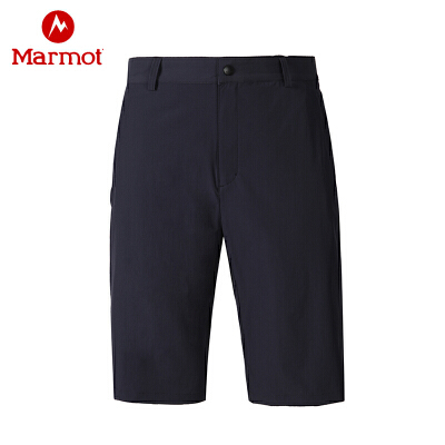 Marmot/土拨鼠夏季运动户外休闲弹力透气男士速干短裤 VIP专享96折