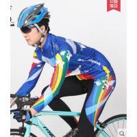 蔚蓝男款骑行服长袖套装 山地自行车骑行装备 自行车服男  可礼品卡支付