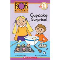 美国小学分级阅读读物 鲍勃书第一级:杯子蛋糕大惊喜!Schol Rdr Lvl 1: Bob Books: Cupcake Surprise!