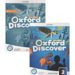 新版 Oxford Discover Level 2 牛津探索发现 小学英语教材套装 学生用书 主教材+练习册 附配套