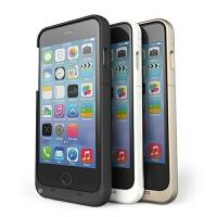 【包邮】现代演绎D6iPhone6背夹电池 苹果6移动电源 备用电充电宝手机壳 金色 4.7寸3200毫安