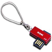【大部分地区包邮】飚王(SSK)诱惑U盘(SFD042) 8G(红色)