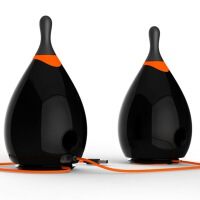 JBL Bowling 音乐保龄 电脑蓝牙小音箱 USB供电 低音炮 2.0迷你音响