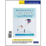 预定原版 Mathematics in Action: An Introduction to Algebraic, G