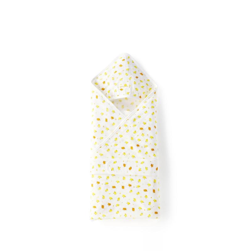 全棉时代 婴儿纱布抱被80cm×80cm1件装