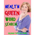 预订 Health Queen Word Search: 133 Extra Large Print Entertai
