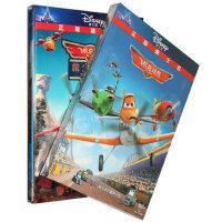 飞机总动员1+2合集2DVD救火英雄迪士尼英语动画片光盘碟片中英文