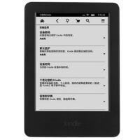 亚马逊 Kindle 入门版 6英寸护眼非反光电子墨水触控显示屏 内置wifi 4G 电子书阅读器 黑色 kindle