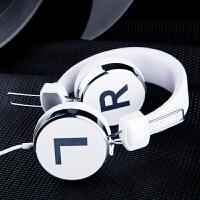 2018新 手机耳机 头戴式电脑耳麦单孔笔记本带话筒潮流 官方标配