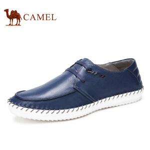 camel骆驼男鞋 春季新款 时尚 系带日常休闲鞋男