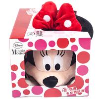 【当当自营】Zoobies迪士尼玩具 米妮毛绒玩具三合一DY110【毛绒玩具+抱枕靠枕+宝宝抱毯睡毯空调毯】