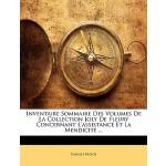 【预订】Inventaire Sommaire Des Volumes de La Collection Joly d