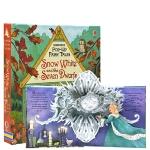 【中商原版】白雪公主和七个小矮人 英文原版 Snow White and the Seven Dwarfs 童话纸板立