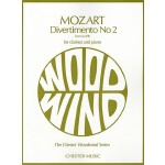 预订 Divertimento No. 2 from K439b: The Chester Woodwind Seri