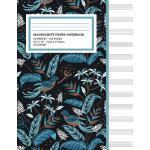 预订 Manu* Paper Notebook: Tropical Birds Cover, 12 Staff Mus